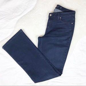 Jennifer Lopez Dark Denim Bootcut Jeans